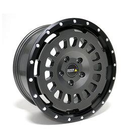 AT aluminum rim 8X17 MATT STONE, CONCAVEFOR VW T5, T6, T6.1, AMAROK / ET40 (T6.1 = ET37 incl. 3mm plates), 5x120 / 65