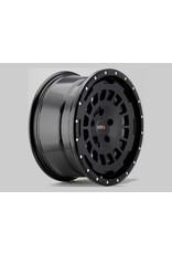 TWIN-MONOTUBE-PROJEKT-AT Alufelge 8X17 ZOLL IN SEIDENMATT BLACK , KONKAVFÜR VW T5, T6, T6.1, AMAROK / ET40 (T6.1 = ET37 inkl. 3mm Platten), 5x120/65