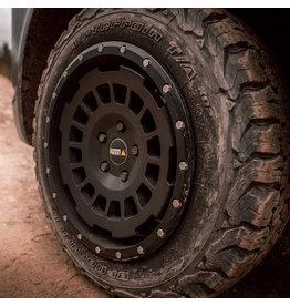 AT Alufelge  8X17 ZOLL IN SEIDENMATT BLACK , KONKAVFÜR VW T5, T6, T6.1, AMAROK / ET40 (T6.1 = ET37 inkl. 3mm Platten), 5x120/65