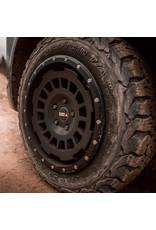 TWIN-MONOTUBE-PROJEKT-AT Alufelge 8X17 ZOLL IN SEIDENMATT BLACK , KONKAV FÜR Mercedes 447 / ET40
