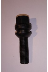 schwarz galvanisierte Radschraube für Stahlfelgen VW T5,6