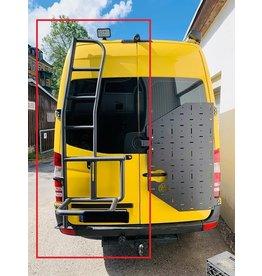 OVE Porte roue avec échelle pour Mercedes Sprinter 906 pour portes à 180 °