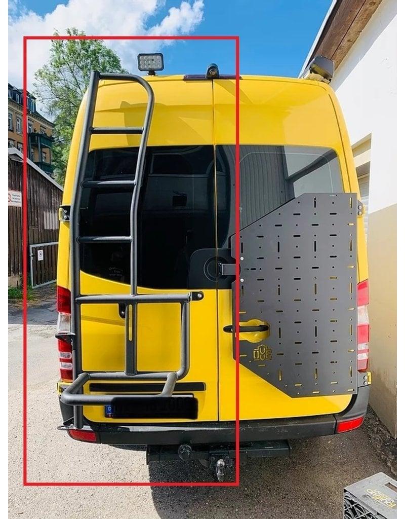 OVE Reserveradleiter Mercedes Sprinter 906 für 180° Türen