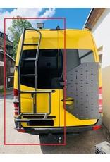 OVE ReserveradleiterVW Crafter 2017+/MAN TGEfür 180° Türen und Hochdach.