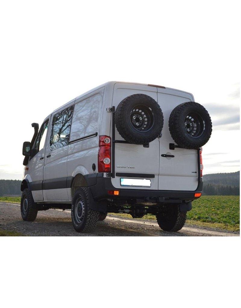 VW Crafter I / Sprinter 906 - Ersatzradhaltemodul für die Hecktür links (180° Tür)