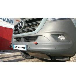 Œillet / anneaux de remorquage renforcés à l'avant pour VW Crafter / Mercedes Sprinter