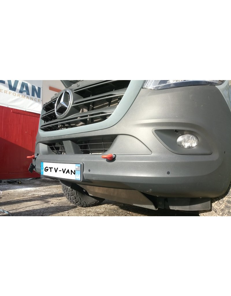 front reinforced recovery /towing eyelets for VW Crafter / Mercedes Sprinter