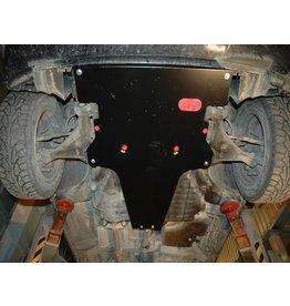 blindage moteur + boîte de vitesses en alu 5 mm pour  639 Vito/Viano 2WD 2.2 BVA