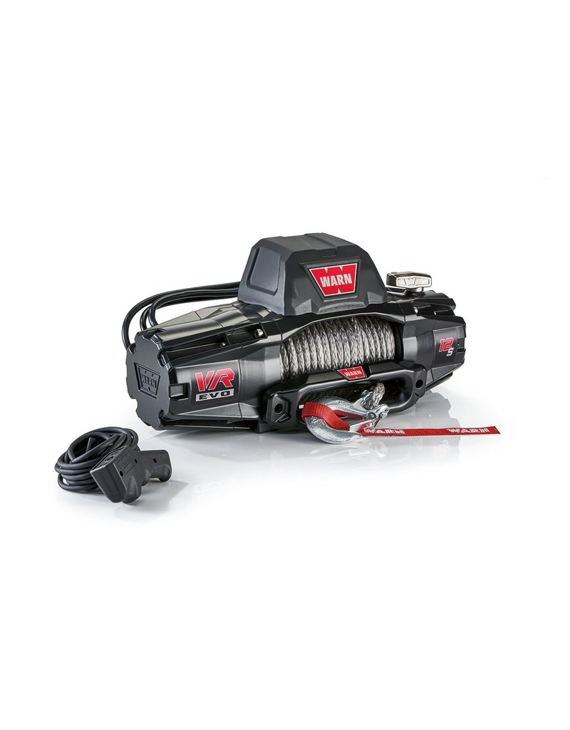 WARN VR EVO 12-S Winch with Sythetic rope 27.4M / 9.5MM