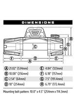 WARN Seilwinde VR EVO 12S 5,4 t 12V   Synthetik Seil  27.4M / 9.5MM