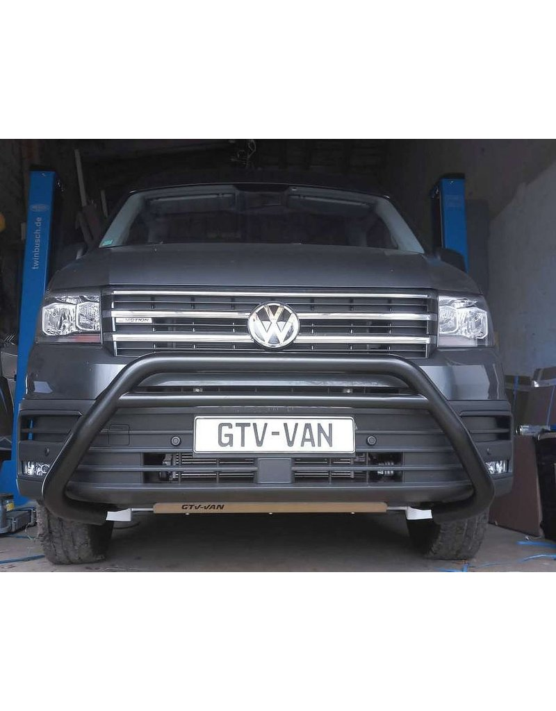 Bull bar 70 mm for VW Crafter II / MAN TGE 2017+ available in chrome or black