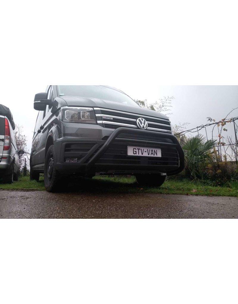 Frontbügel / Bullfänger 70 mm VW Crafter II / MAN TGE ab 2017 in Version poliert oder schwarz