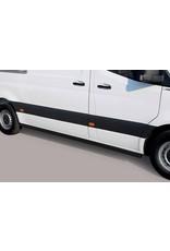 Schwellerrohre 60 mm für MERCEDES-BENZ Sprinter