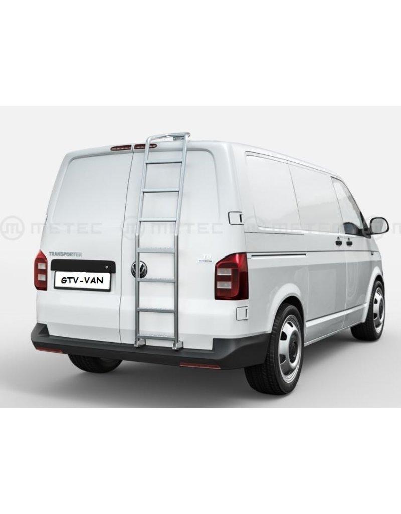 HECKLEITER für VW T5 & T6 (poliert oder schwarz) für Doppeltüren und H1 Dach