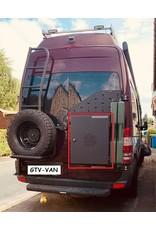 Miriquidi lightweight aluminum cargo box 50 x 45 x 35 cm