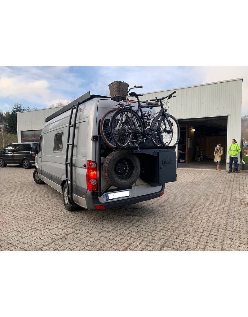 Bikerack für bis zu 2 Fahrräder
