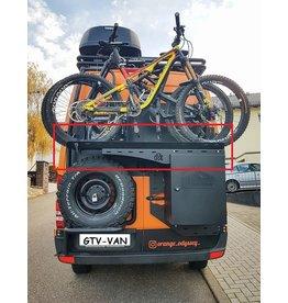 Porte-vélos pouvant accueillir jusqu'à 2 vélos