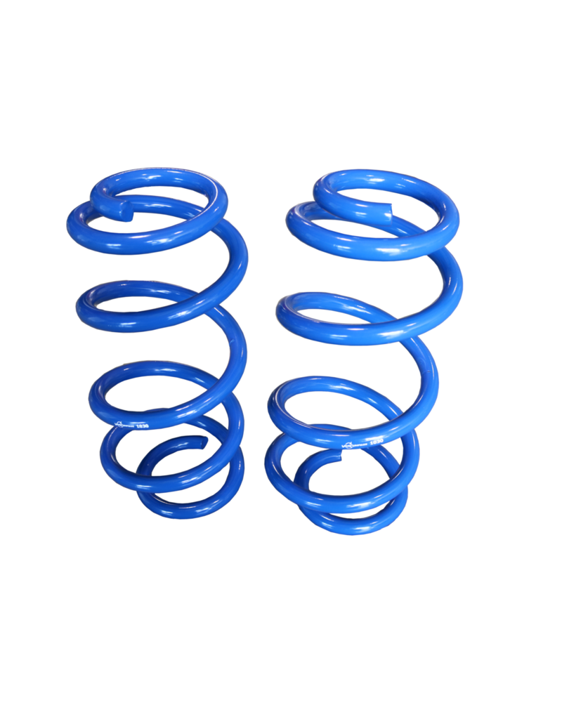 """FRONT 1"""" (2,54 cm) LIFT COIL SPRINGS - TRANSIT (2013+ SINGLE OR DUAL REAR WHEEL) BY VAN COMPASS"""
