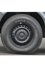 GOSS Triangular II Black Stahlfelge für VW T5/6 und Amarok (außer V6) 7x16  5/120 ET 28 CB65.1 - Copy