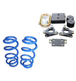 TOPO 2.0/ 5,1 cm FRONT AND REAR BODY LIFT KIT - FORD TRANSIT (2013+, 2WD&4x4, SINGLE OR DUAL REAR WHEEL) BY VAN COMPASS