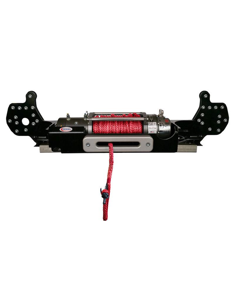 SEIKEL VWT6.1 Seilwinde 3.600 kg, 12V mit Kunststoffseil für Fronteinsatz