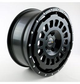 Jante all terrain aluminium TWIN-MONOTUBE-PROJEKT-AT18 8X18 ET45 5x120/65 BLACK MAT POUR VW T5, T6, T6.1 (et AMAROK, CADDY, PASSAT)