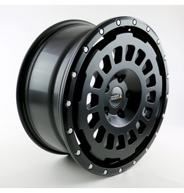 Twin Monotube Project AT18, 8x18, ET45 , 5x112/66,6 All Terrain hard alloy rim Matt Black For Mercedes Vito / V-Class / Viano 447 (and 639)