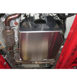 fuel tank and adblue tank skid plate 6 mm alu -Fiat Ducato /Citroën Jumper /Peugeot Boxer /Ram ProMaster (2014+)