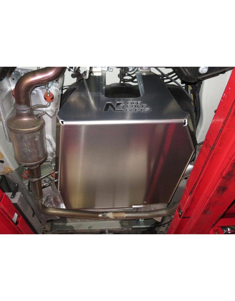 Kraftstoff-und Adblue Tank-Unterfahrschutz 6 mm alu - Fiat Ducato /Citroën Jumper /Peugeot Boxer /Ram ProMaster (2014+)