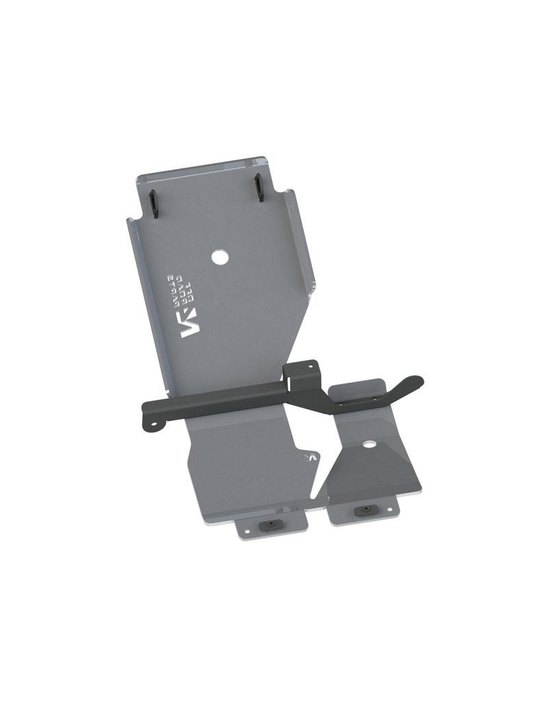IVECO Daily 4x4 10/2019+ 6mm Alu Unterfahrschutz für Frontdifferential und Getriebe
