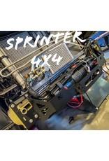 Seilwindenmontageplatte für Mercedes Benz Sprinter 907/VS30 mit Automatikgetriebe