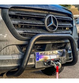 Platine montage treuil pour Mercedes Sprinter 906/907 avec double ventilateur frontal