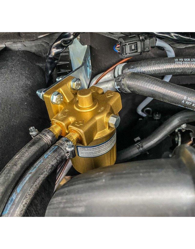 Montageset für RACOR RA110/RA120 Serie Dieselvorfilter Sprinter 907