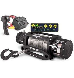 IRONMAN4x4 IRONMAN4x4 9500LBS / 4,3 T MONSTER WINCH WITH SYNTHETIC ROPE