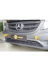 TERRANGER verstärkte Abschleppösen (Bergeösen), vorne, passend für Mercedes Vito 447 / V-Klasse