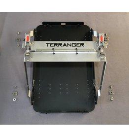 Module porte-caisse en aluminium, pour le système de porte-bagages arrière modulable sur VW T5/T6, MB Vito ou autres