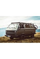 GTV-GMB VW T3 modulares Dachgepäckträgersystem komplett (4 Module) - Alu schwarz gepulvert oder Alu Natur