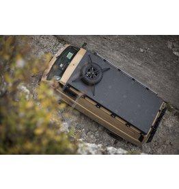 VW T3 galerie de toit modulaire XL (5 modules) - kit complet Aluminium recouvert de poudre noire ou en alu nu