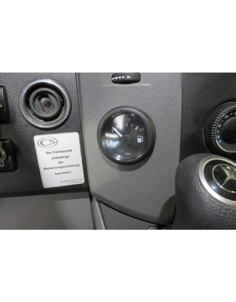Zusatztank 120 L Komplettset für Mercedes Sprinter 907 für Version mit Reserverad unter dem Fahrzeug hinten (kompletter Satz)