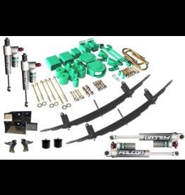 """VAN COMPASS PACK STAGE 6.3 Kit de rehausse 2""""/5,1 cm STRIKER 4x4 cm avec AMORTISSEURS FALCON 3.3, SUMO AVANT POURSPRINTER 906/NCV3 4x4 (roues simples)"""