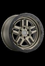 BLACK RHINO BARSTOW 17X8.0 6/130 ET38 CB84.1 MATTE BRONZE MIT MATTE BLACK RING, Mercedes Sprinter 906/907, Hart-Alufelge