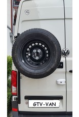 MAN TGE/VW Crafter II (2017+) - Ersatzradhaltemodul für die Hecktür links 180° Tür