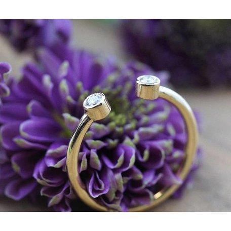 Order ring white gold