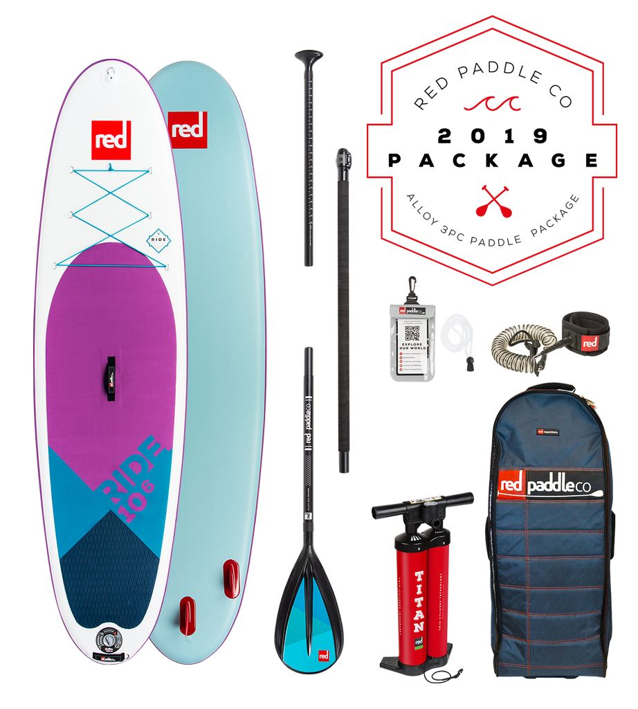 Red Paddle Co Red Paddle co 10'6 SE Alloy package