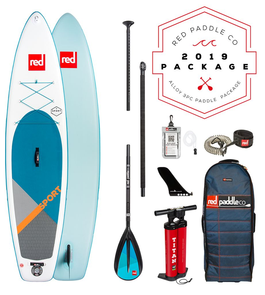 Red Paddle Co Red Paddle Co.11' SPORT PACKAGE Alloy 3pc