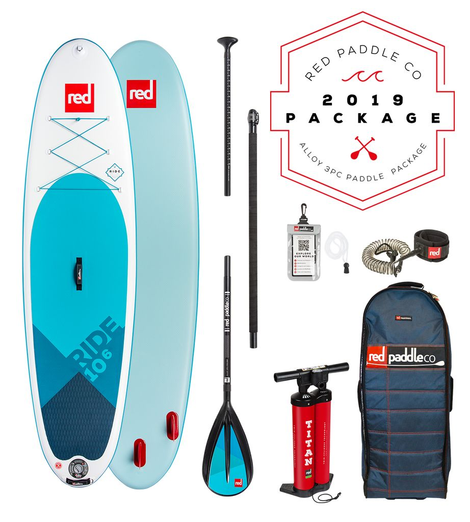Red - Ride 10'6 - SUP Package