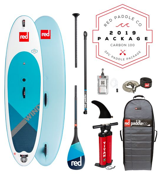 "Red Paddle Co Red Paddle Co.10'7"" WINDSUP PACKAGE"