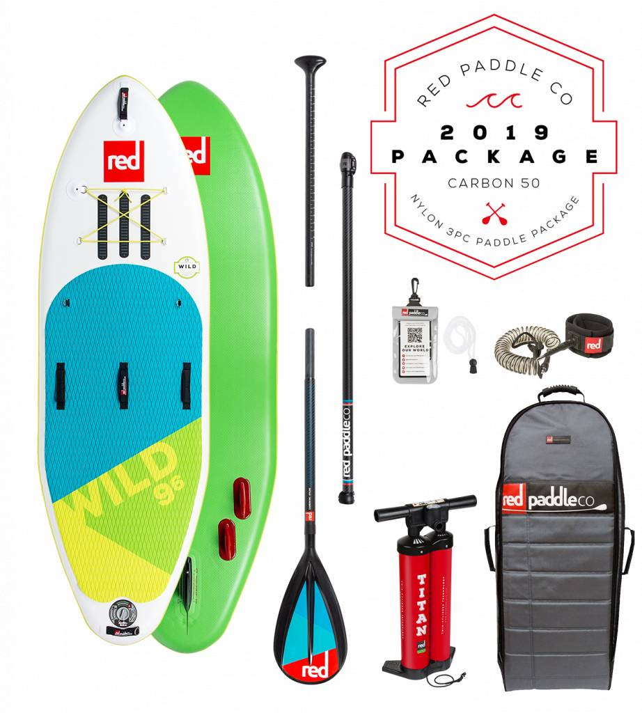 """Red Paddle Co Wild 9'6"""" Package"""