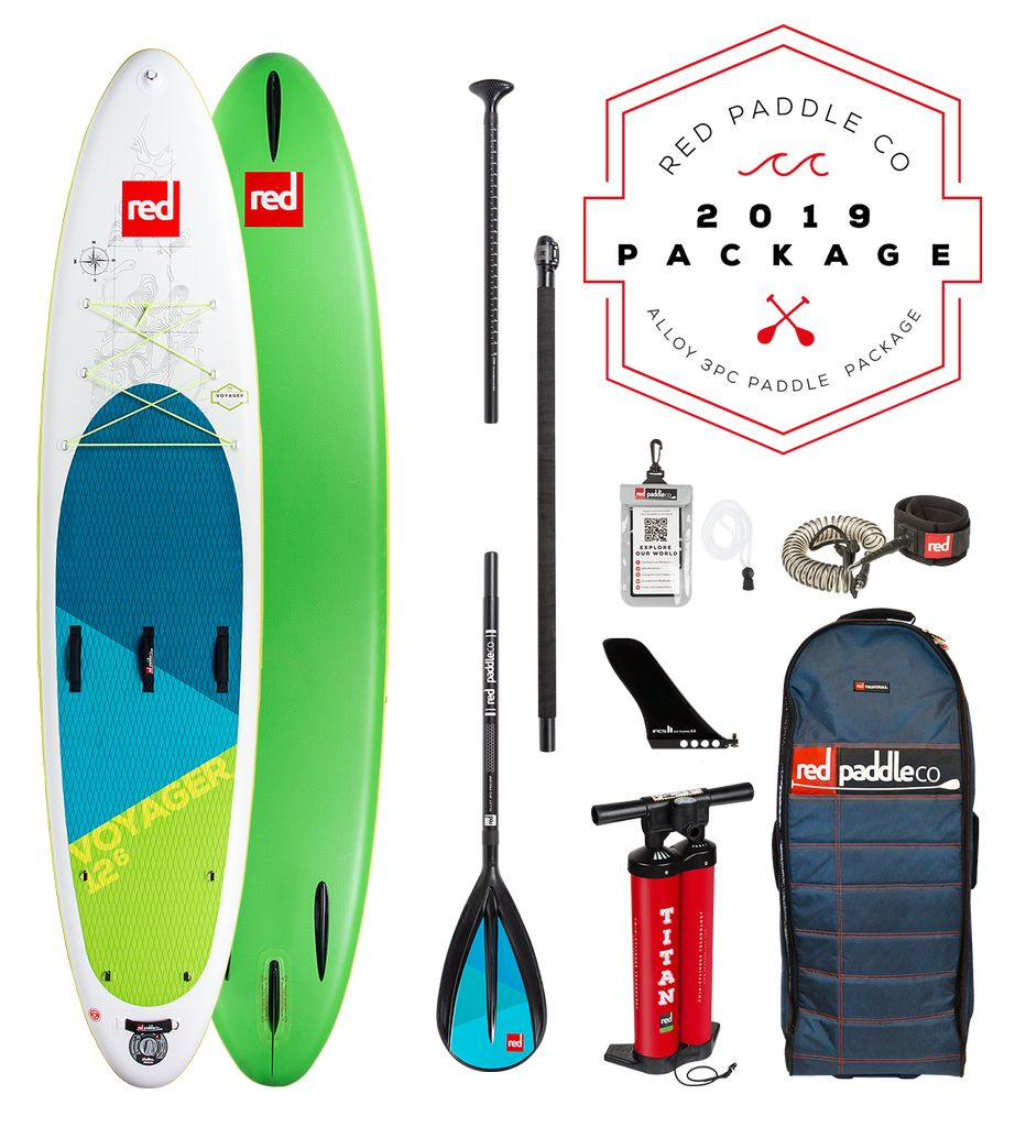 Red Paddle Co Red Paddle Co. Voyager | SUP Package
