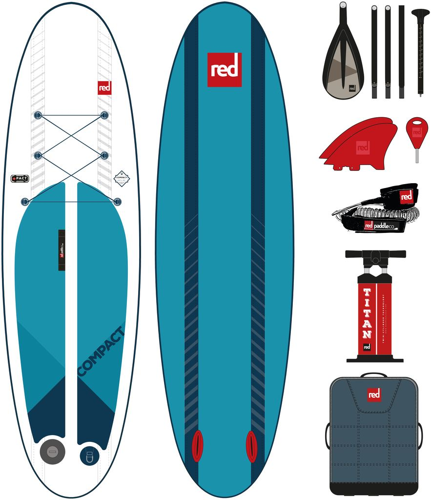 "Red Paddle Co Red Paddle co 9'6"" Compact package"